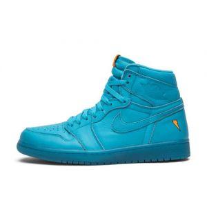 Cheap Fake Gatorade Jordan 1 High 'Blue Lagoon'