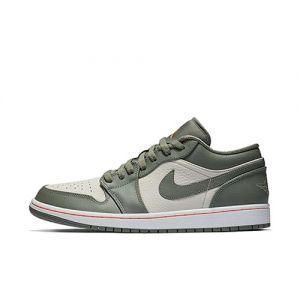 Fake Jordan 1 Low Military Green shoe's outside