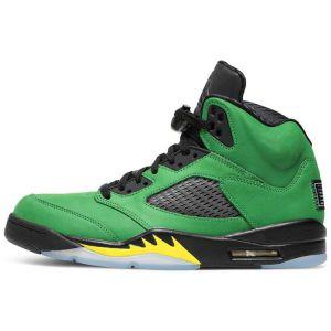 Fake Jordan 5 'Oregon' Outside