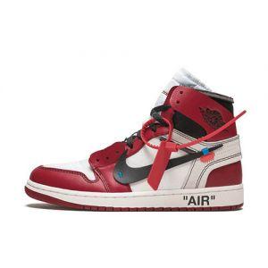 Fake Jordan 1 Retro High Off-White 'Chicago' Outside