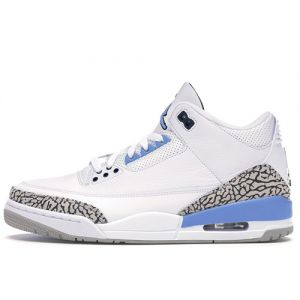 Replica Jordan 3 UNC shoe's upper