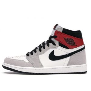 Fake Jordan 1 High 'Light Smoke Grey' Outside