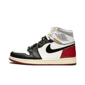 Fake Jordan 1 High Union 'Los Angeles Black Toe' Outside