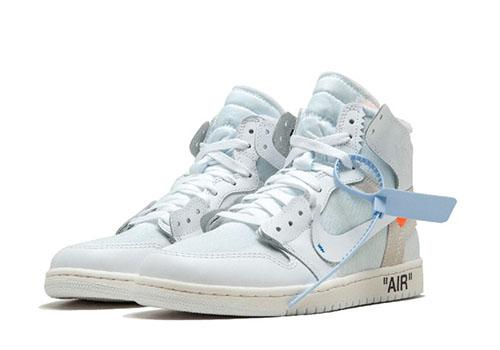 Fake Off White Jordan 1 White