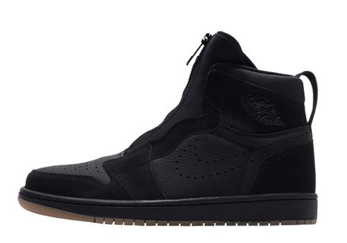 Fake Jordan 1 High Zip Black Gum