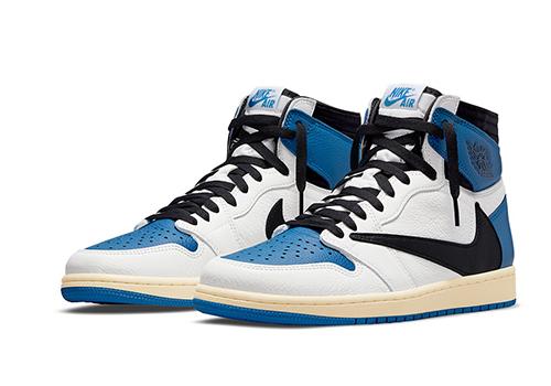 Fragment Design Travis Scott Air Jordan 1 Retro High fake shoes
