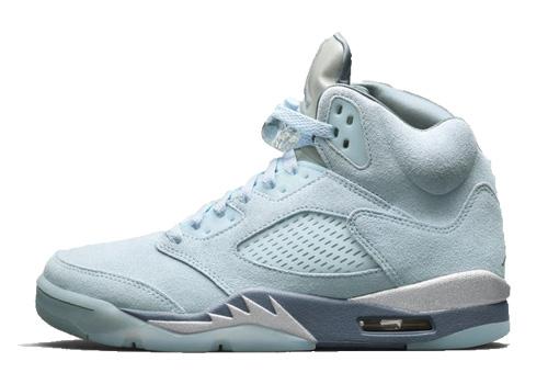 Jordan 5 Blue Bird replica